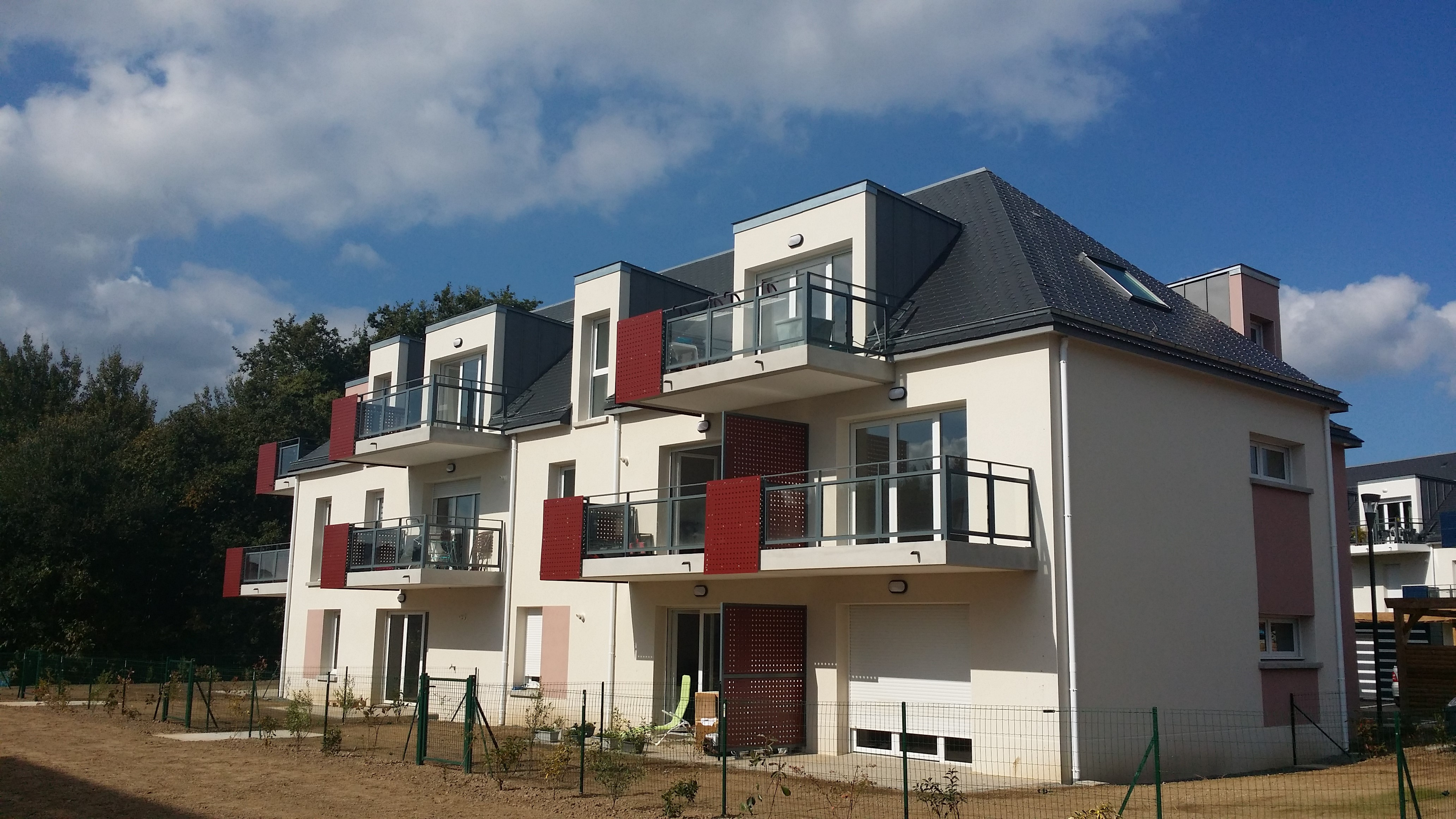 13 Logements collectifs à Saint Malo
